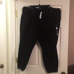 Torrid Skinny Jeans Black sz 26